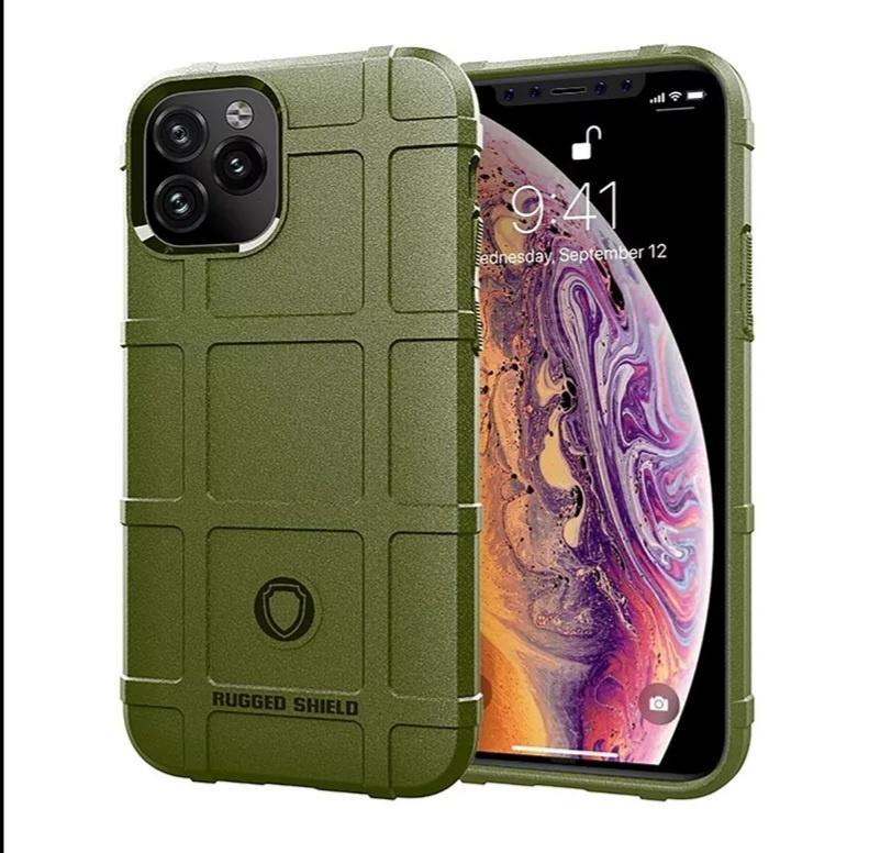 Smartphonehoesje iPhone 12 (Pro)   Shockproof   Green