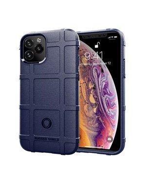 Smartphonehoesje iPhone 12 ( Pro ) | Shockproof-Robuust | Navy