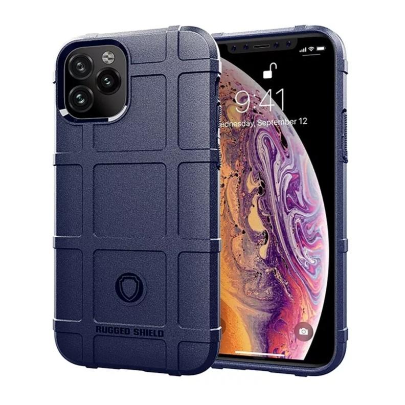 Smartphonehoesje iPhone 12 (Pro)   Shockproof   Navy