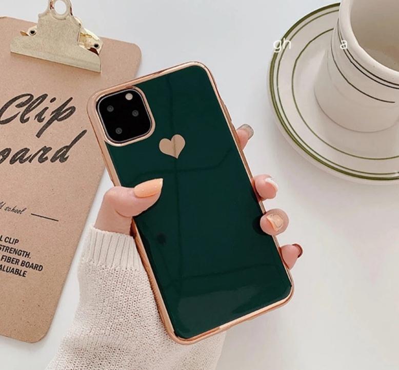 Smartphonehoesje iPhone 11 | Dennengroen