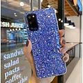 Smartphonehoesje Samsung A51 | Blauwe glitters