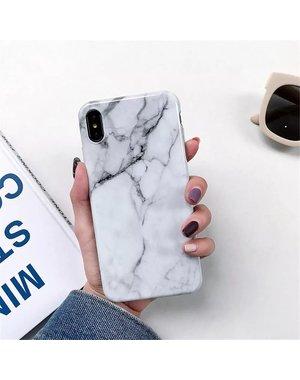 Smartphonehoesje Samsung  A71 | Marmerlook