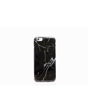 Smartphonehoesje Samsung  A51 | Marmerlook | Zwart