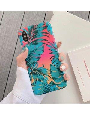 Smartphonehoesje iPhone X   iPhone XS   Summervibes   Groen