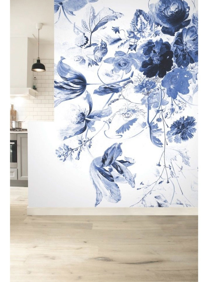 Behang  Flowers l - 6-baans