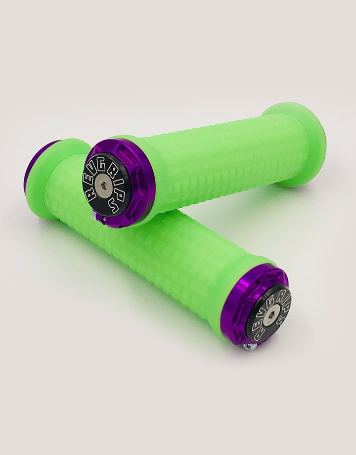 RevGrips RevGrips Pro Series Shock Absorbing grip System - Neon Green
