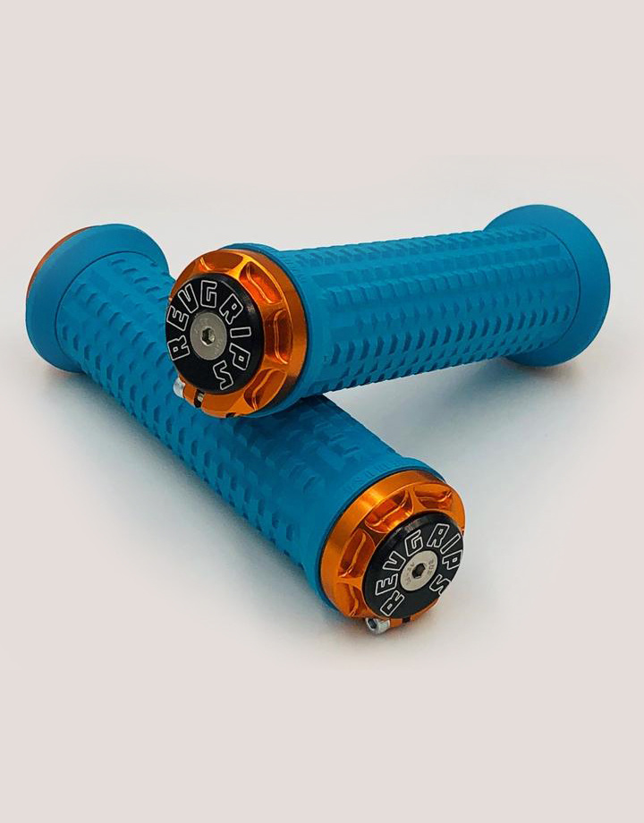 RevGrips RevGrips Pro Series Shock Absorbing grip System - Turquoise