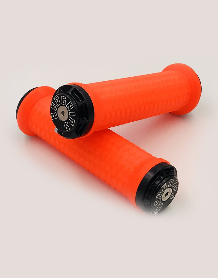 RevGrips RevGrips Pro Series Shock Absorbing Grip System - Neon Orange