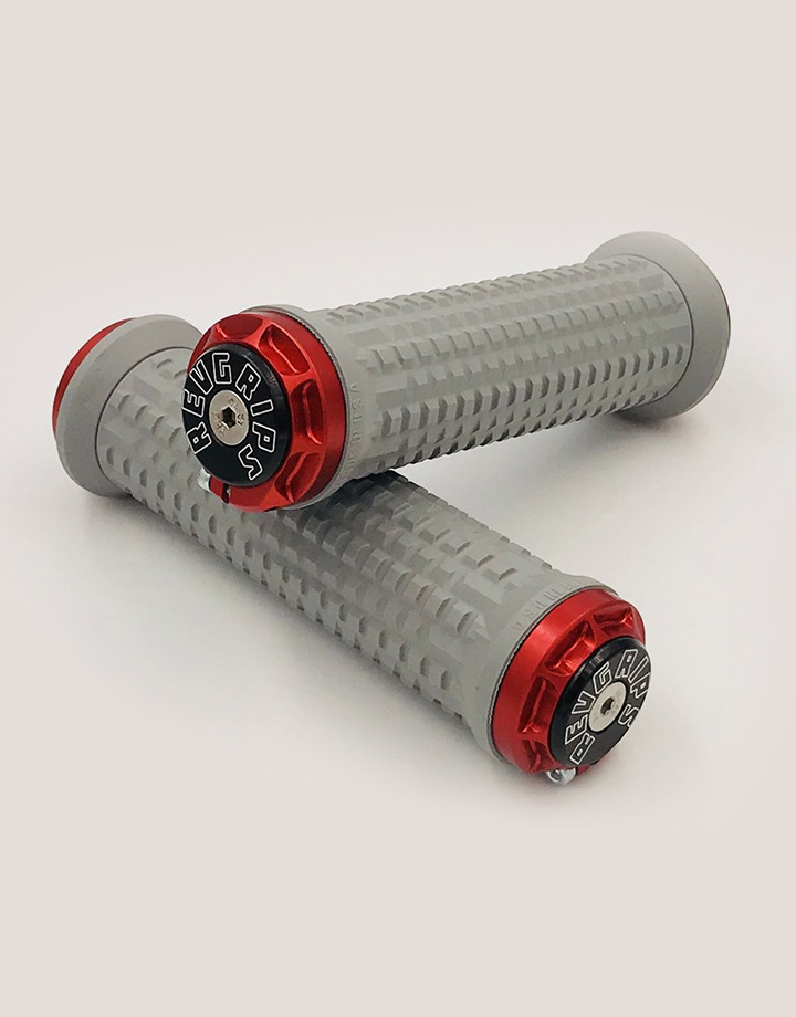 RevGrips RevGrips Pro Series Shock Absorbing Grip System - Titanium Grey