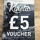 Kinetic Cycles Gift Voucher - £5