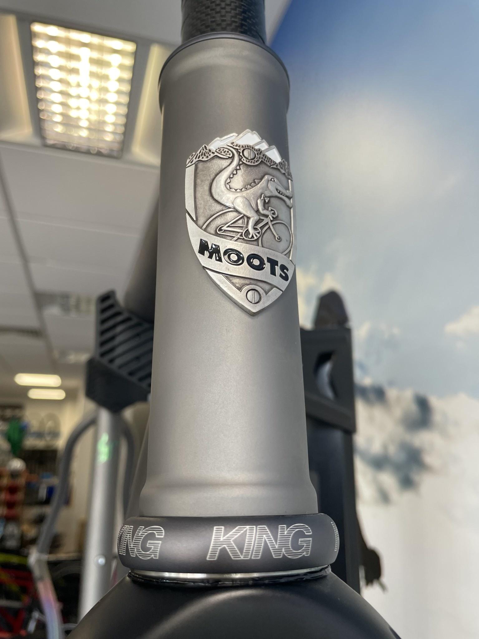 Moots Moots Routt 45 Frameset 54CM Internal/DI2 W/ Stanley Graphics