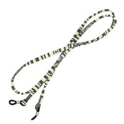 Fako Bijoux® - Brillenkoord - Inka - 70cm - Zwart