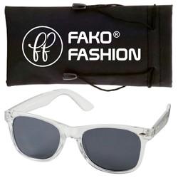 Fako Fashion® - Zonnebril - Wayfarer - Classic - Transparant