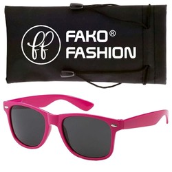 Fako Fashion® - Zonnebril - Wayfarer - Classic - Fuchsia