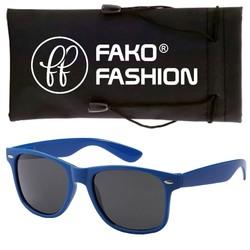 Fako Fashion® - Zonnebril - Wayfarer - Classic - Blauw