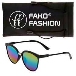 Fako Fashion® - Zonnebril - Clubmaster - Spiegel Regenboog