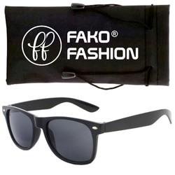 Fako Fashion® - Kinder Zonnebril - Wayfarer - Zwart