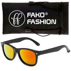 Fako Fashion® - Kinder Zonnebril - Spiegel Rood