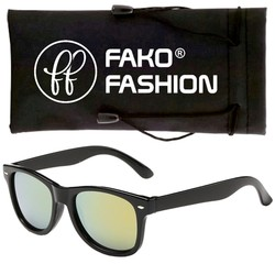 Fako Fashion® - Kinder Zonnebril - Spiegel Goud