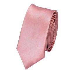 Fako Fashion® - Skinny Stropdas - Effen - 145cm - Roze
