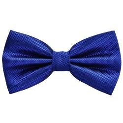 Fako Fashion® - Vlinderstrik - Vlinderdas - Raster - 12cm - Royal Blauw