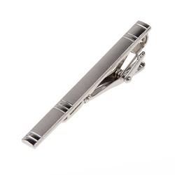 Fako Bijoux® - Dasspeld - Deluxe - Model Herman - 60mm - Zilverkleurig