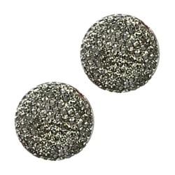 Fako Bijoux® - Magnetische Broche - Hoofddoek Magneet - Sjaal - Hijab - Abaya - 18mm - Grijs