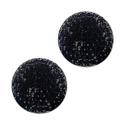 Fako Bijoux® - Magnetische Broche - Sjaal - Hijab - Abaya - 18mm - Zwart