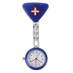 Fako® - Verpleegstershorloge - Driehoek - Donkerblauw