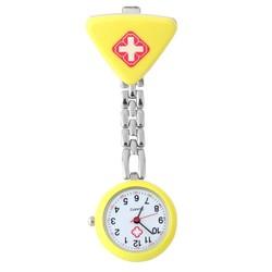 Fako® - Verpleegstershorloge - Driehoek - Geel