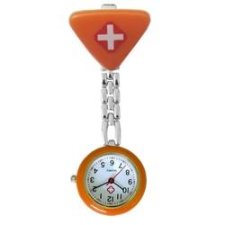 Fako® - Verpleegstershorloge - Driehoek - Oranje
