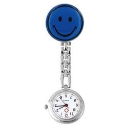 Fako® - Verpleegstershorloge - Smiley - Donkerblauw