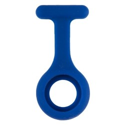 Fako® - Verpleegstershorloge - Siliconen Hoesje - Donkerblauw