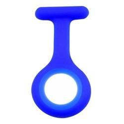 Fako® - Verpleegstershorloge - Siliconen Hoesje - Royal Blauw
