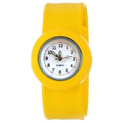 Fako® - Kinderhorloge - Slap On - Classic - Geel