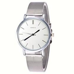 Fako® - Horloge - Mesh - Classic - Ø38mm - Zilverkleurig
