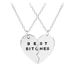 Fako Bijoux® - Vriendschapsketting - Best Bitches