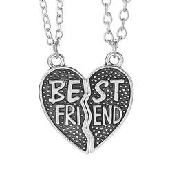 Fako Bijoux® - Vriendschapsketting - Harten - Best Friend