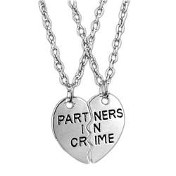 Fako Bijoux® - Vriendschapsketting - Partners In Crime