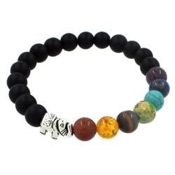 Fako Bijoux® - Buddha Armband - Chakra Reiki - Olifant