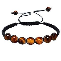 Fako Bijoux® - Buddha Armband - Tijgeroog - Classic