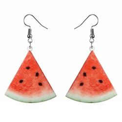Fako Bijoux® - Oorbellen - Groente & Fruit - Watermeloen