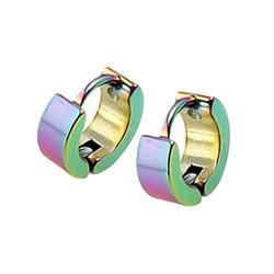 Fako Bijoux® - Oorbellen - Oorringen - RVS - Classic - Multicolor