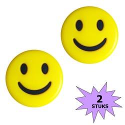 Fako Bijoux® - Tennisdemper - Emoji - Smile - 2 Stuks