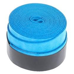 Fako Bijoux® - Racket Overgrip - Tennis - Soft - Blauw - 2 Stuks