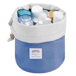 Fako Fashion® - Make Up Tas - Cosmetica Organizer - Reistas - Toilettas - Donkerblauw