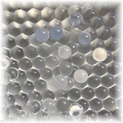 Fako Bijoux® - Orbeez - Waterabsorberende Balletjes - 8-9mm - Transparant - 10.000 Stuks