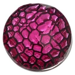 Fako Bijoux® - Click Button - Reliëf - Roze