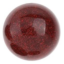Fako Bijoux® - Click Button - Glitterzand - Rood