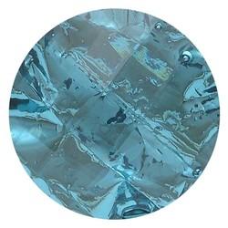 Fako Bijoux® - Click Button - Aluminium - Lichtblauw